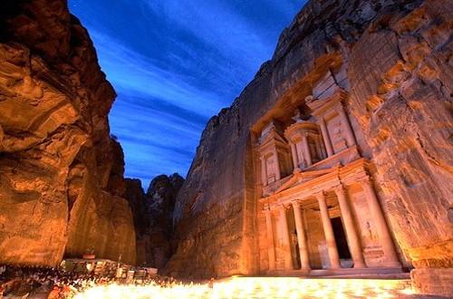 پاورپوینت تحلیل و بررسی شهر پترا در اردن