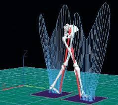 پاورپوینت مکانیزم راه رفتن ربات انسان