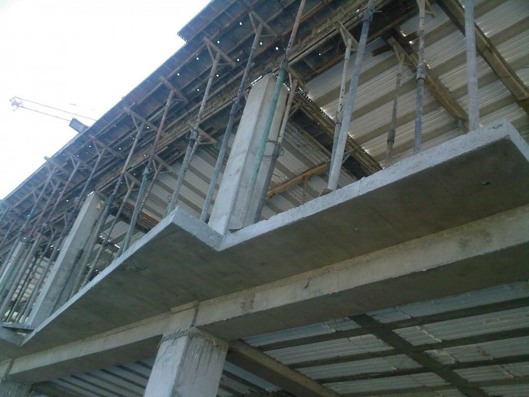 کارآموزی ساختمان بتنی