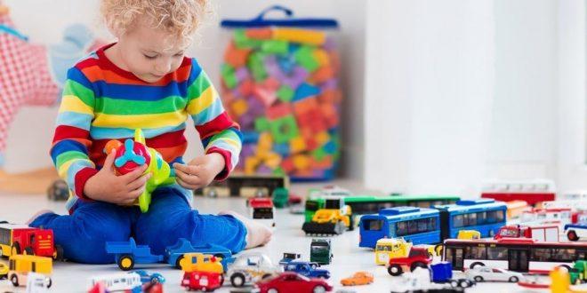 تحقیق اسباب بازی و کودکان