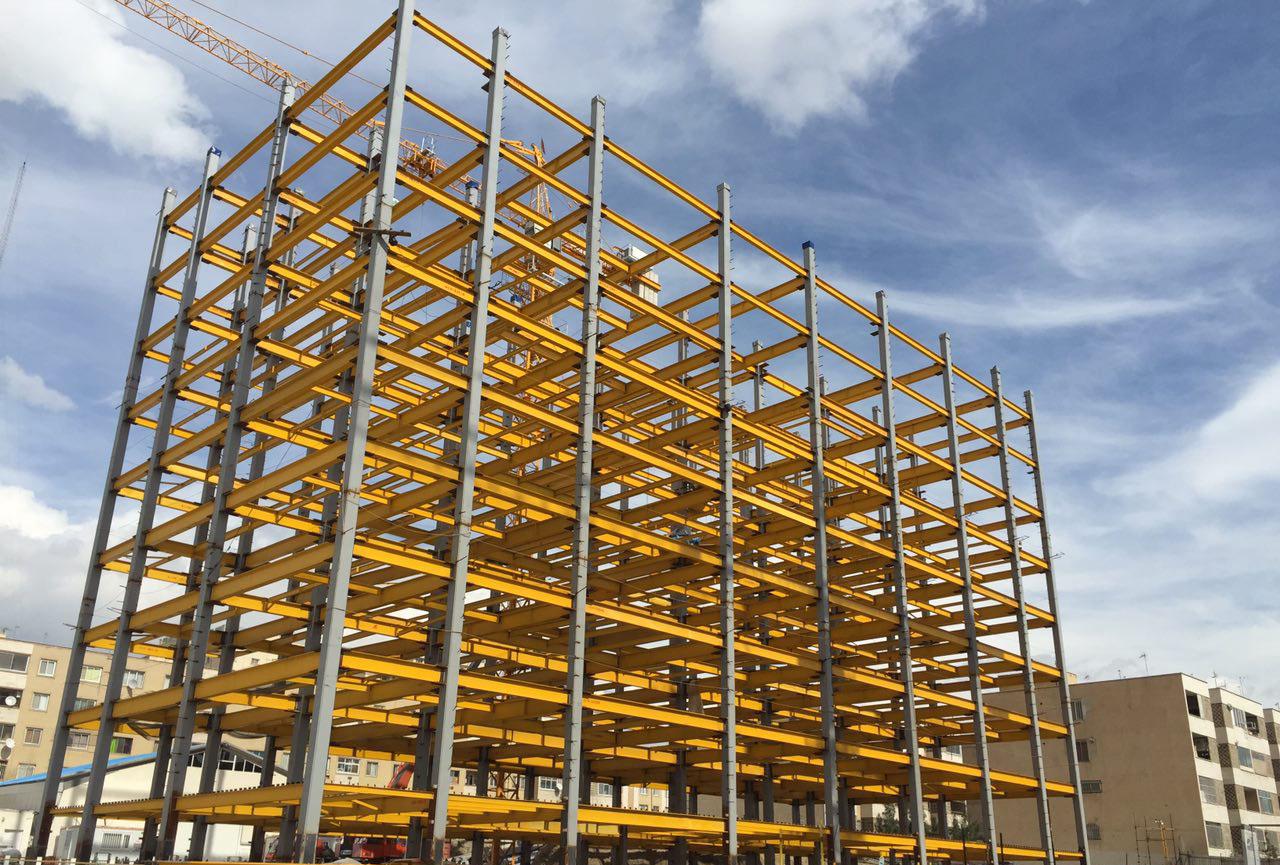 تحقیق بررسی سازه های فولادی