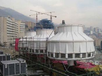 تحقیق برج خنک کننده و سیستم های حرادتی و برودتی