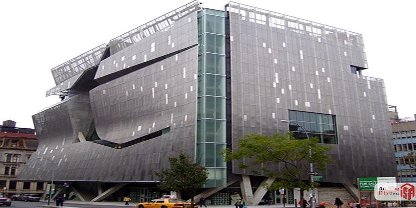 پاورپوینت تحلیل و بررسی دانشکده معماری اتحادیه کوپر در نیویورک