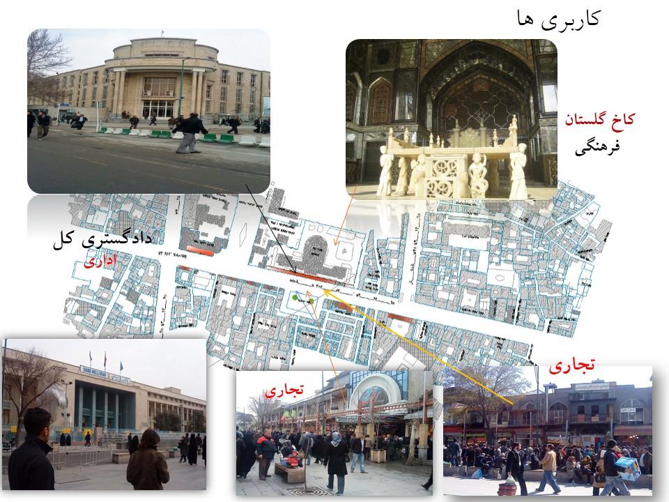 پاورپوینت تحلیل و بررسی پیاده راه 15 خرداد تهران