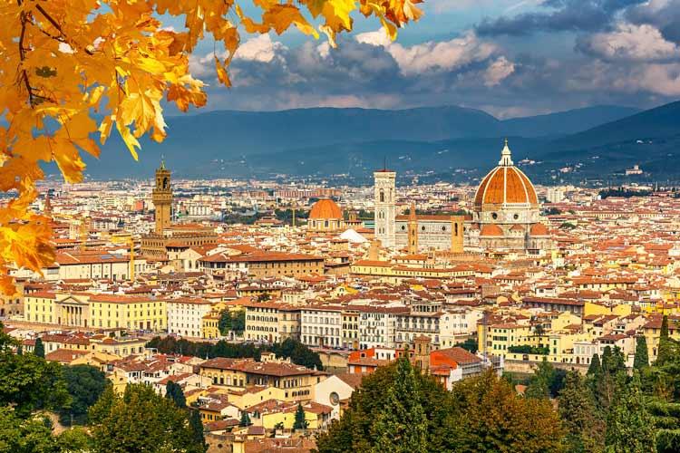 پاورپوینت ارائه شهر فلورانس ایتالیا