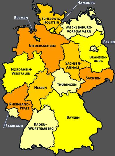 پاورپوینت بررسی وضعیت مدیریت شهری و نهادهای محلی در کشور آلمان