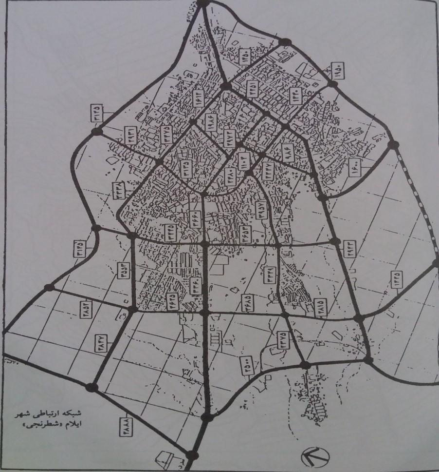 پاورپوینت شبکه ارتباطی در طراحی شهری