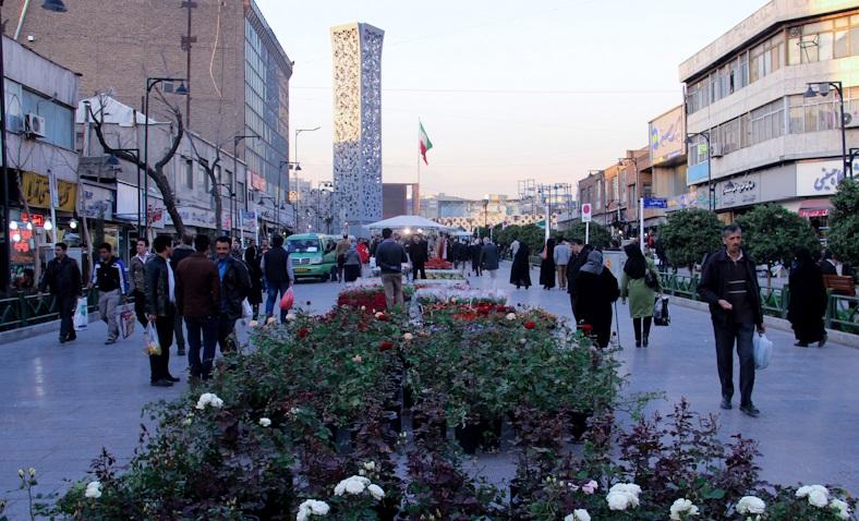 پاورپوینت تحلیل و بررسی پیاده راه هفده شهریور به عنوان یک فضای شهری