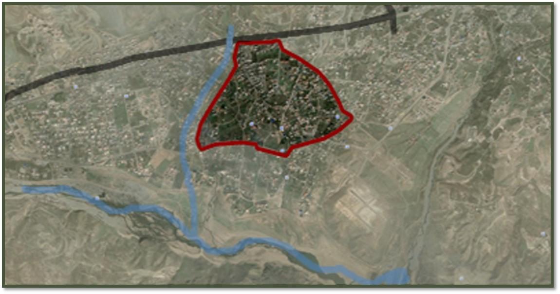 پاورپوینت روش های طراحی شهری تحلیل محور نجارکلا در لواسان