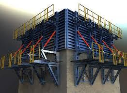 پاورپوینت اجرای ساختمان ها با قالب های لغزنده
