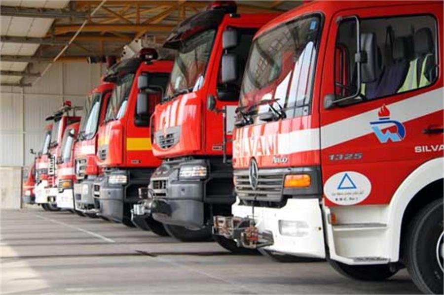 پاورپوینت مکانیابی ایستگاه های آتش نشانی