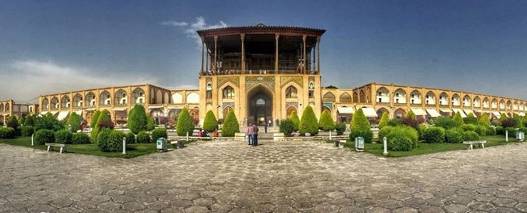 پاورپوینت تحلیل و بررسی بنای عالی قاپو اصفهان