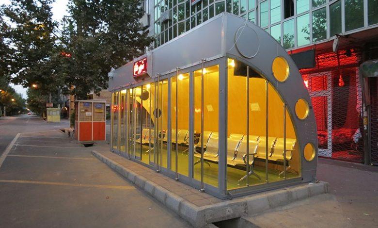 پاورپوینت نقد و تحلیل ایستگاه اتوبوس
