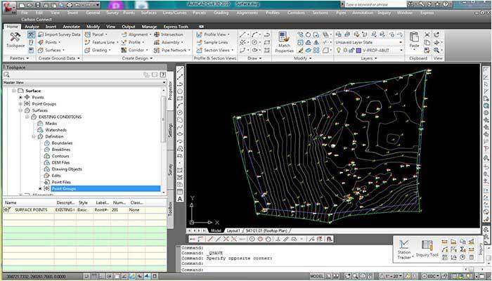 آموزش نرم افزار civil3D،2010