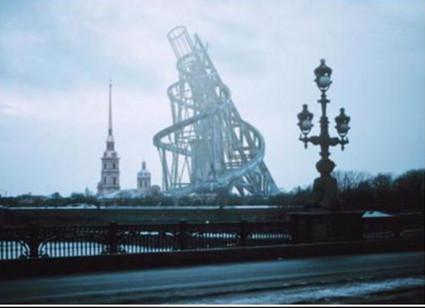 پاورپوینت تحلیل و بررسی معماری کانستراکتیویسم