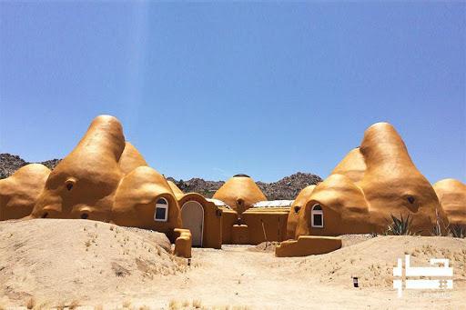 پاورپوینت معماری با خاک (انسان، طبیعت، معماری)