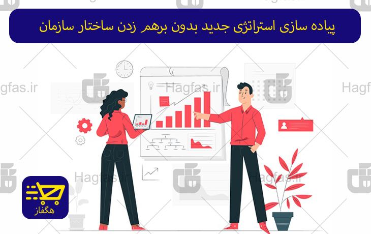 پاورپوینت پياده سازی استراتژی جدید بدون برهم زدن ساختار سازمان