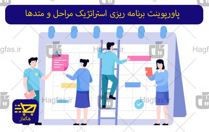 پاورپوینت برنامه ریزی استراتژیک مراحل و متدها