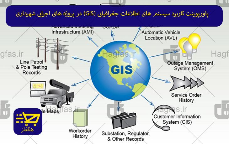 پاورپوینت کاربرد سیستم های اطلاعات جغرافیایی (GIS) در پروژه های اجرایی شهرداری