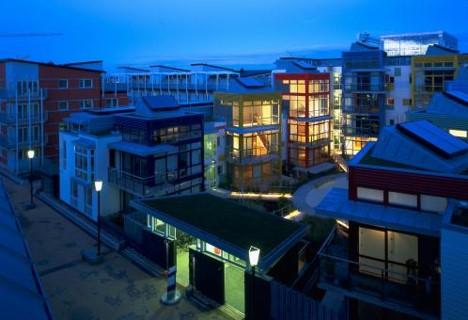 پاورپوینت بررسی مجتمع مسکونی خانه تانگو
