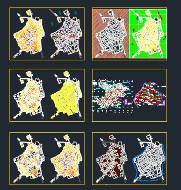 نقشه های اتوکدی روستای زرگر
