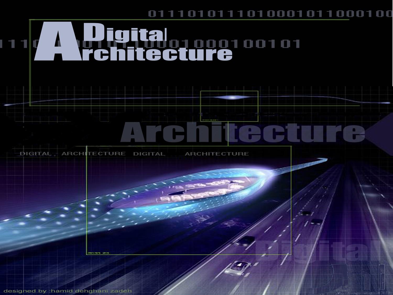 پاورپوینت بررسی معماری دیجیتال