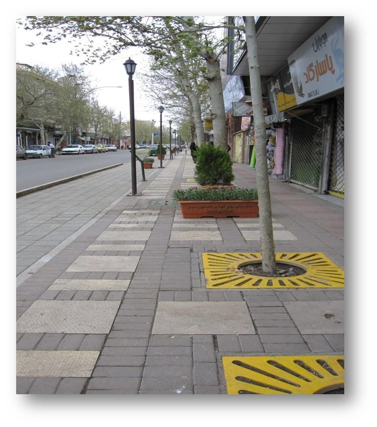 پاورپوینت بررسی خیابان خیام قزوین درس شناخت فضای شهری