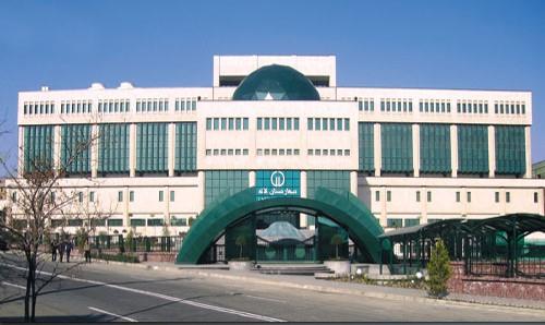 پاورپوینت بیمارستان تخصصی وفوق تخصصی لاله