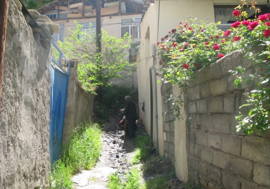 پاورپوینت بررسی روستای تکیه سپه سالار تهران